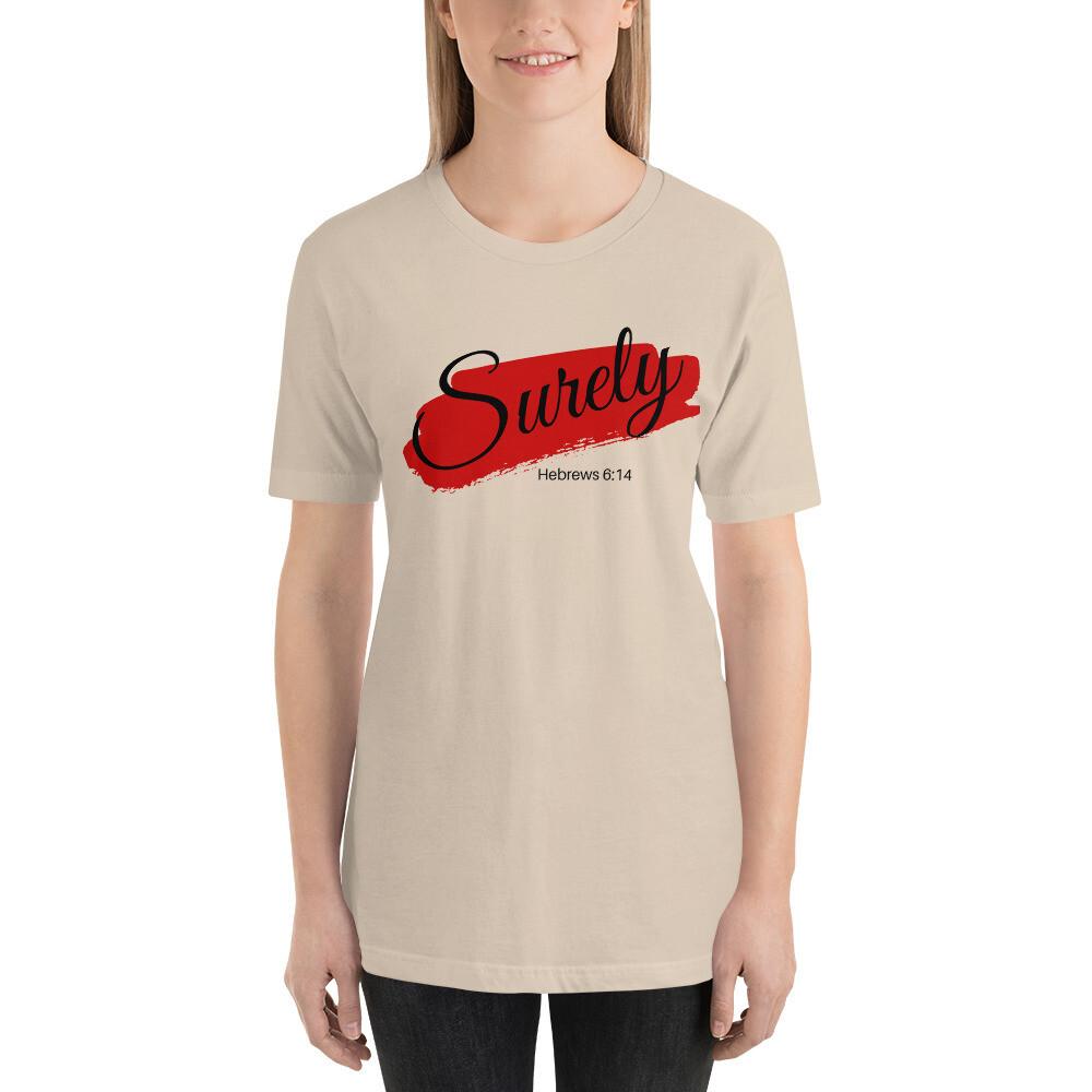 Surely - Short-Sleeve Unisex T-Shirt