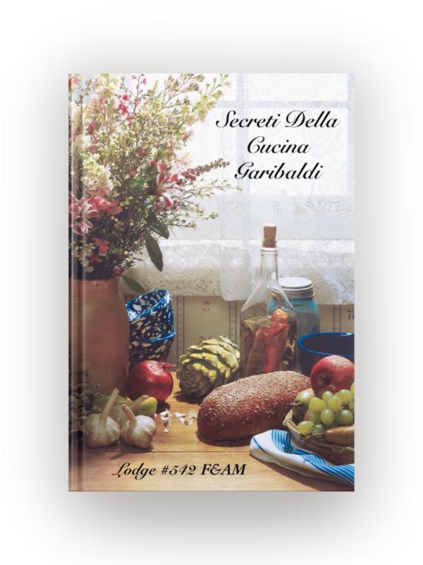 "Garibaldi Cookbook - ""Secreti Della Cucina Garibaldi"" Physical Book"