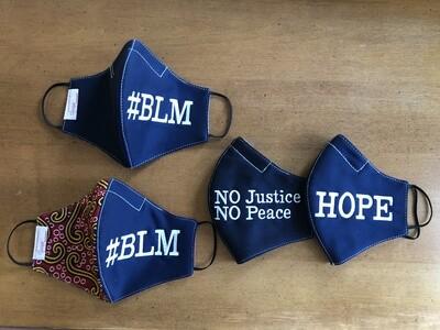 Adult Mask (Hope, Peace, BLM)