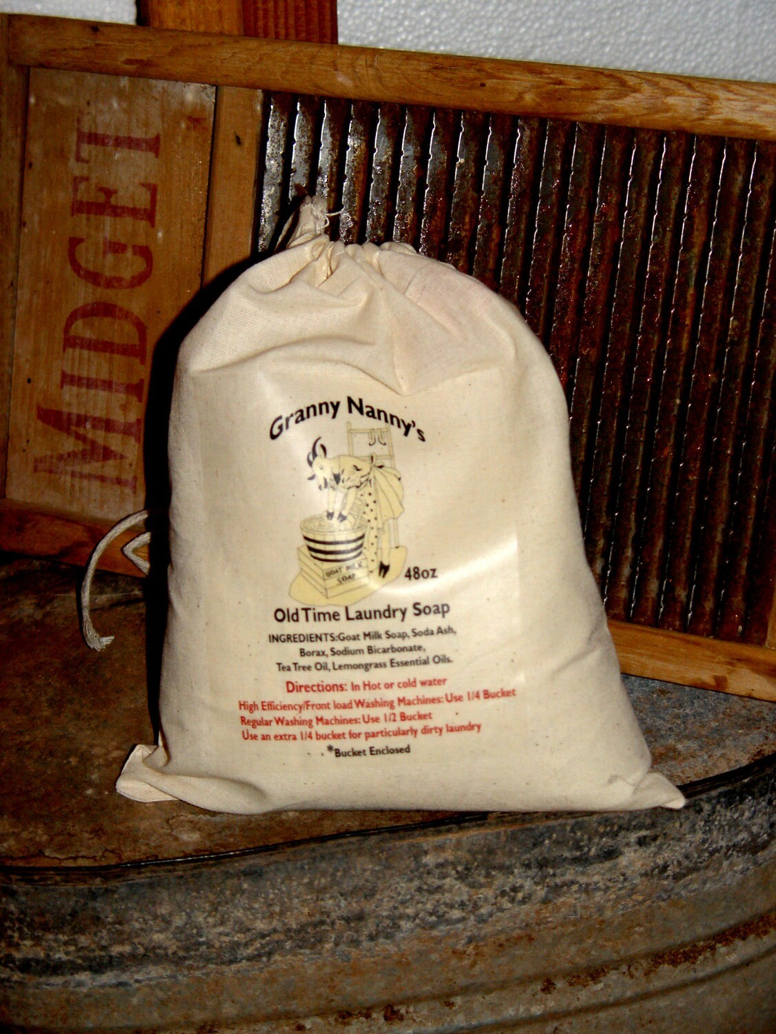 Granny Nanny's Old Time Laundry Soap Powder