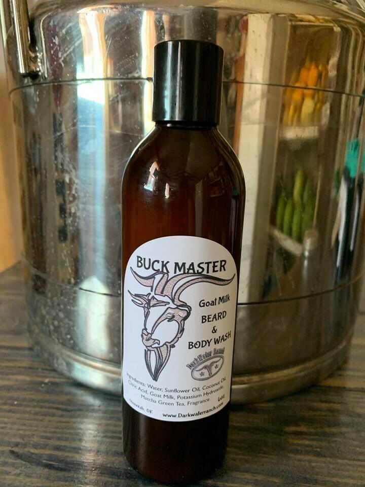 Buck Master Goat Milk Beard & Bath Wash