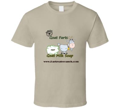 Goat Farts Goat Milk Soap T-Shirt