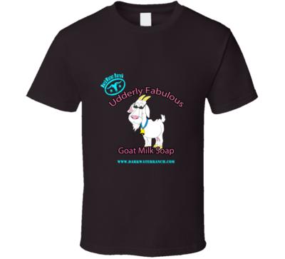 Udderly Fabulous Goat Milk Soap T-shirt