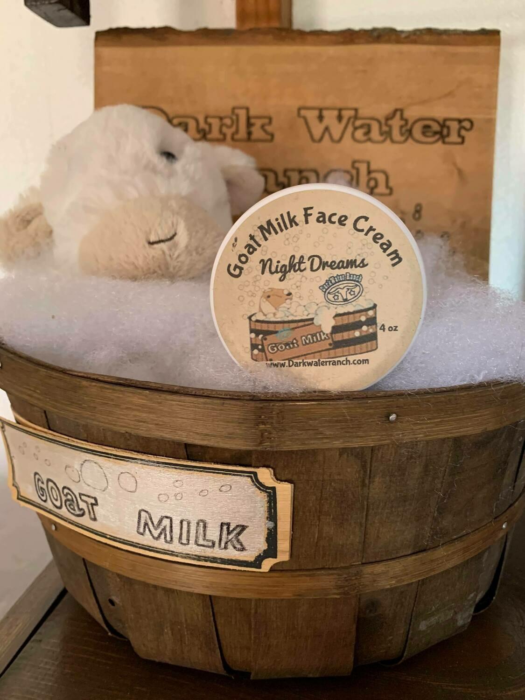 Night Dreams Goat Milk Face Cream