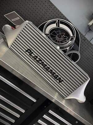 Dahtone Racing x Plazmaman Drag GT-R Intercooler