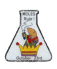 Moles Rule! Lapel Pin