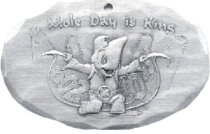 Mole Day is King Ornament