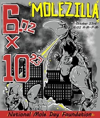 2020 Molezilla temporary tattoo