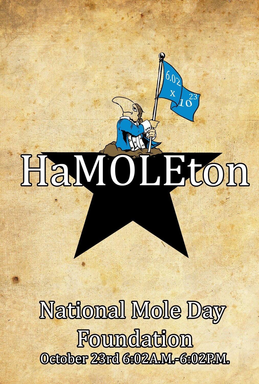 HaMOLEton postcards
