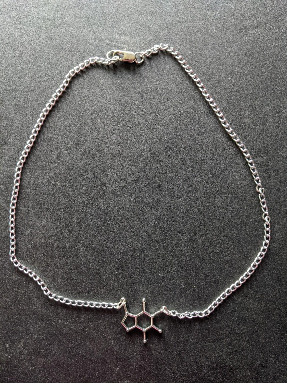 Caffeine necklace