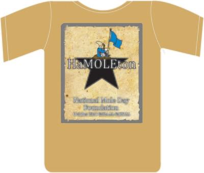 2021 HaMOLEton T-shirt (XL)