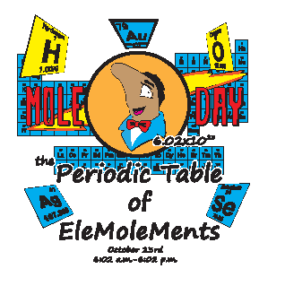 Window Cling Periodic Table of the EleMOLEments