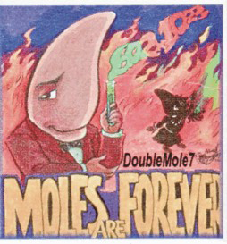 2007 Moles Are Forever tattoo