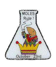 Moles Rule! Lapel Pin