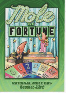 2008 Mole of Fortune Postcard