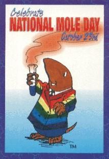 Burrow D. Mole Postcard