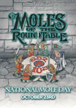 2011 Moles of the Round Table Postcard