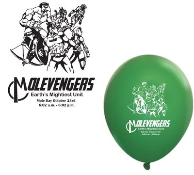 2017 Molevengers Balloon