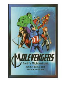 Molevengers Magnet