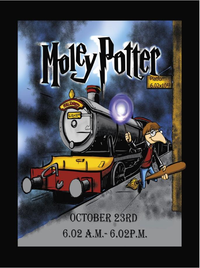 Moley Potter postcards