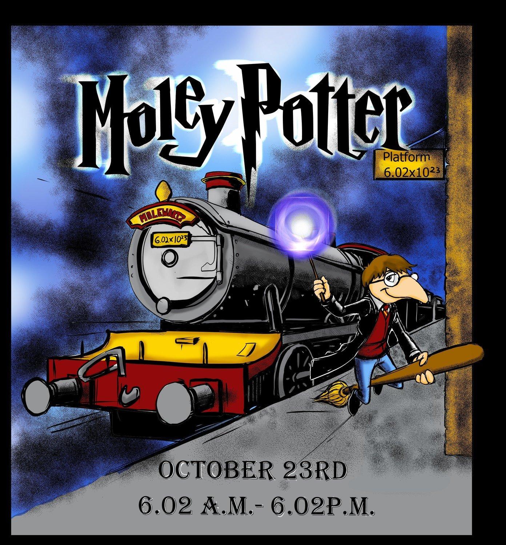 Moley Potter Window Cling