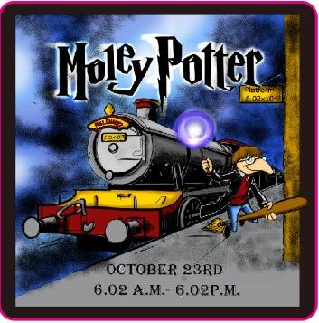 Moley Potter Lapel Pin