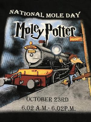 Moley Potter shirt (XXXL)