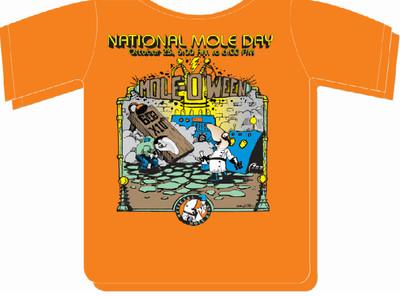 2014 Mole-O'Ween shirt (s)
