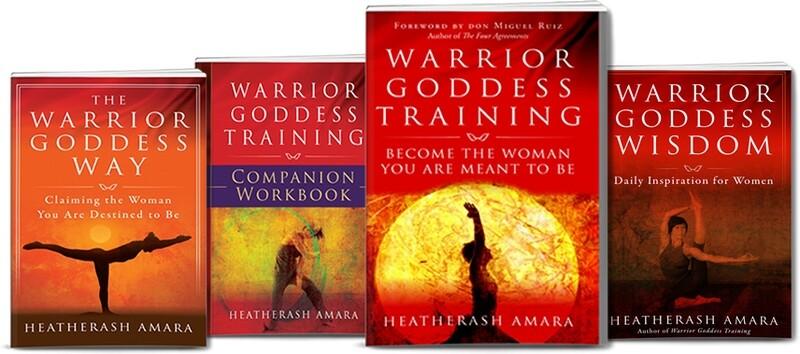 Warrior Goddess 4 Book Package