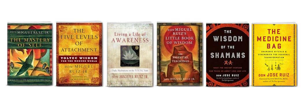 Toltec Wisdom - 6 Book Package
