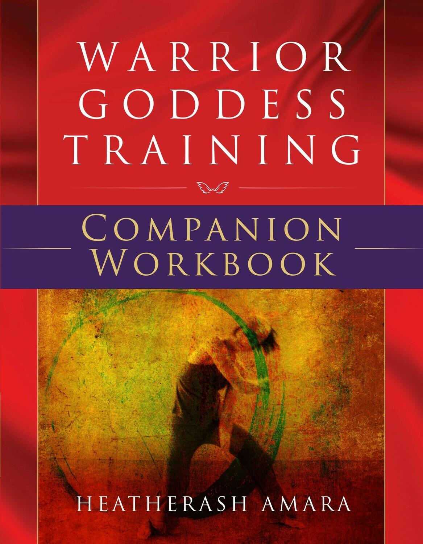 Book Club Special - Warrior Goddess Training Companion Workbook