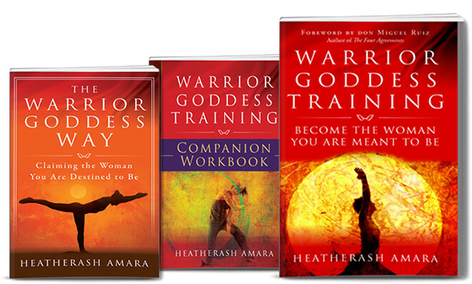DIGITAL Warrior Goddess 3 Book Package Special!