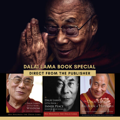 Dalai Lama 3 Book Package Special