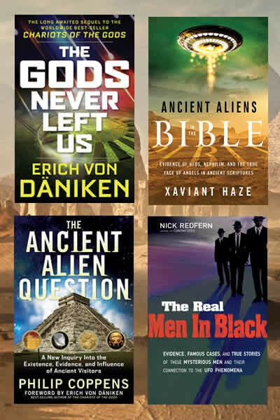 Ancient Aliens 4 Book Package Special