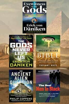 Ancient Aliens 5 Book Package Special