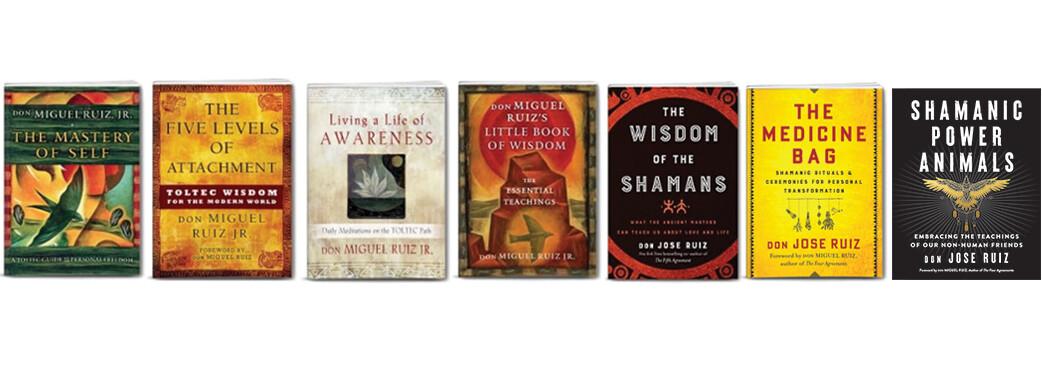 Toltec Wisdom - 7 Book Package