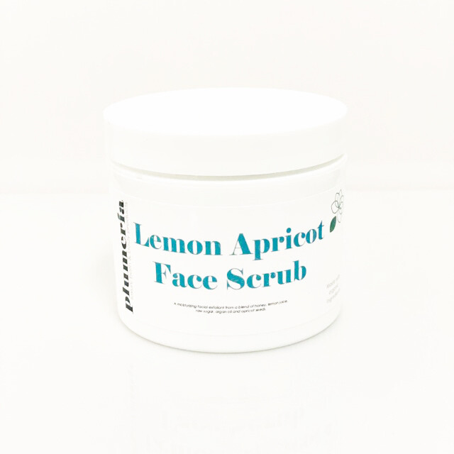 Lemon Apricot Face Scrub
