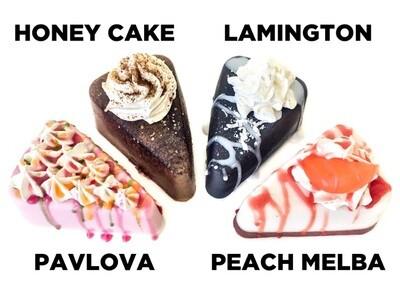 Lamington Cake Soap