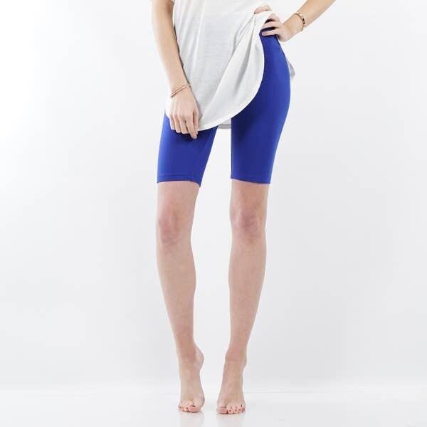 Bike Short Leggings - Blue