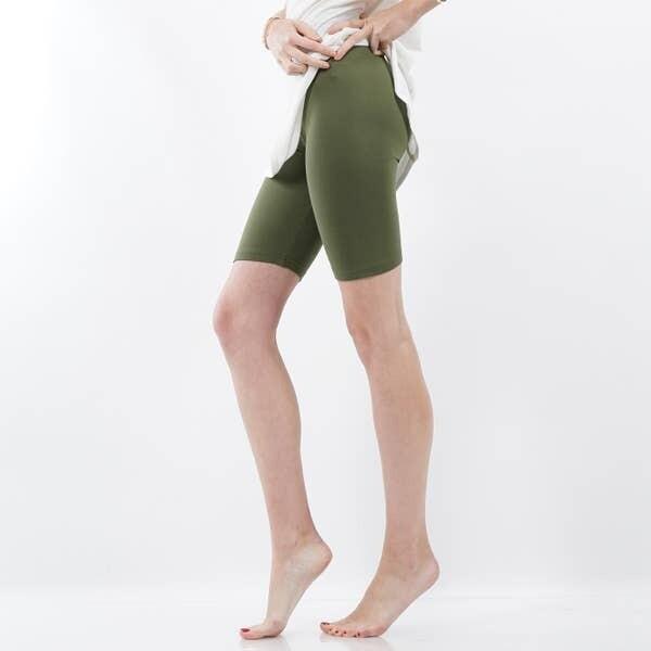 Bike Short Leggings - Green