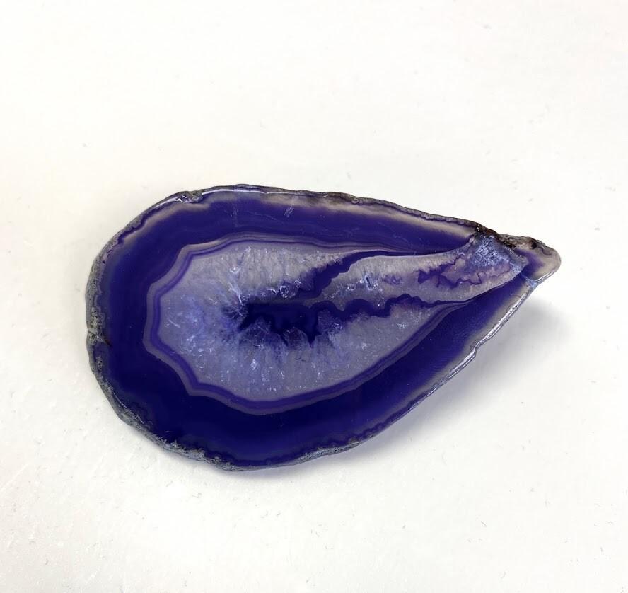 Purple Agate Barrette - Style 1