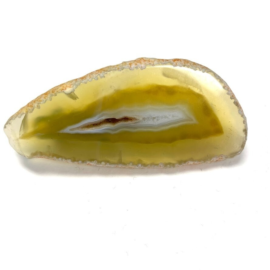 Yellow Agate Barrette - Style 2