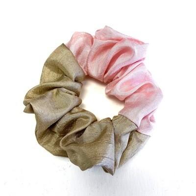 Two Tone Scrunchie - Rose