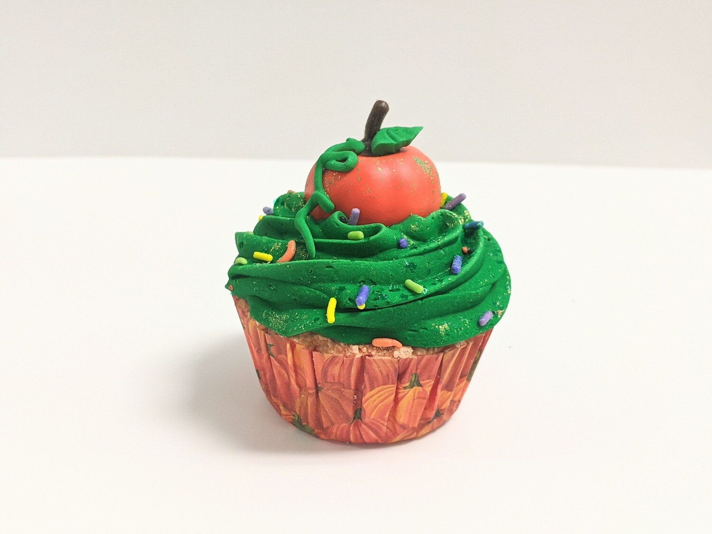 Pumpkin Patch Cupcake Bath Bomb
