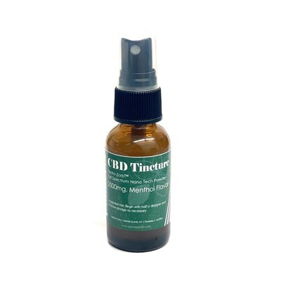 CBD - 2500mg Water Soluable Tincture