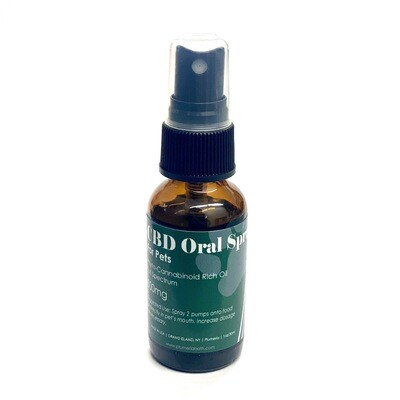 CBD Oral Spray for Pets