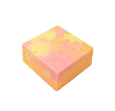 Strawberry Peach Oatmeal Soap