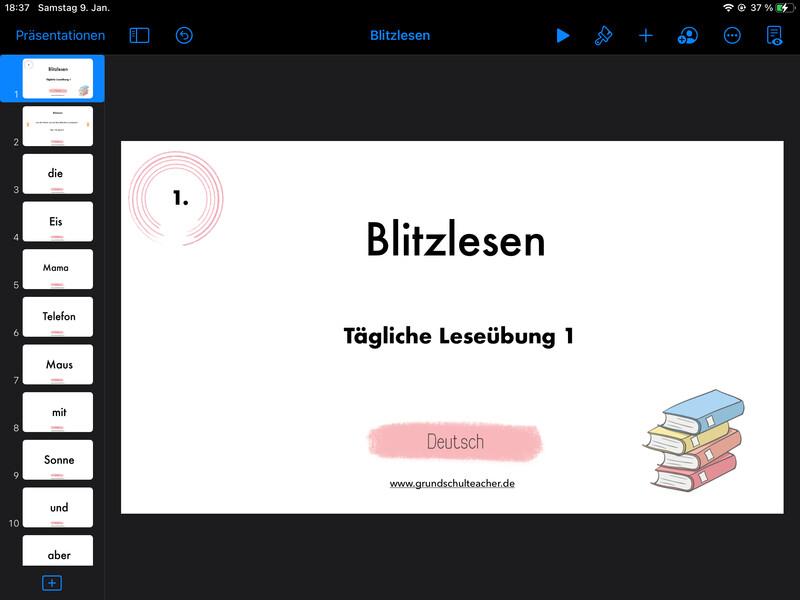 interaktive, anpassbare Vorlagen für Deutsch