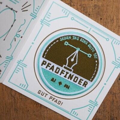 Patch Pfadfinder deluxe
