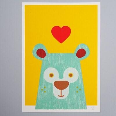 Bunter Bär